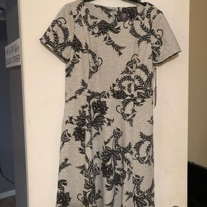 Vince Camuto Gray and Black dress NEVER WORN/Tags